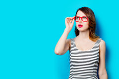 2 chic glasses latin Στοκ εικόνα με δικαίωμα ελεύθερης χρήσης