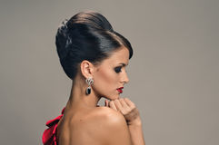 Chic lady Stock Images