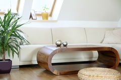Chic living room Royalty Free Stock Photography