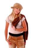 chic młodych dziewcząt Zdjęcie Royalty Free