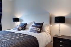 Chic modern bedroom Stock Photo