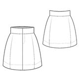 Chic Skirt stock images