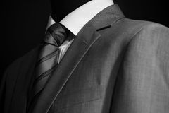 Chic and stylish suit Stock Image