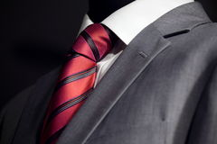 Chic and stylish suit Stock Images