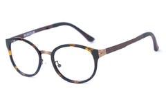 chic tła nowoczesne okulary białych odizolowanych Obraz Royalty Free