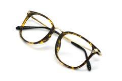 chic tła nowoczesne okulary białych odizolowanych Zdjęcia Royalty Free