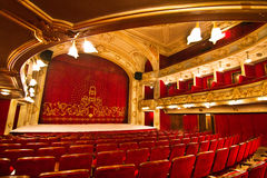 Chic Theater. Small chic theater in Focsani, Romania royalty free stock image