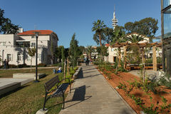 Chic and trendy compound of Sarona in Tel aviv Stock Images