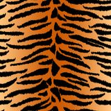 Chic vector seamless patterns tiling. Animal print, tiger texture. Endless texture can be used for printing onto fabric and paper or scrap booking. Can be used Stock Images
