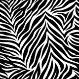 Chic vector seamless patterns tiling. Animal print, zebra texture. Endless texture can be used for printing onto fabric and paper or scrap booking. Can be used Royalty Free Stock Photos