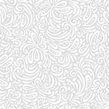 Chic vector seamless patterns tiling. Endless texture can be used for printing onto fabric and paper or scrap booking. Curls and dot shape stock illustration