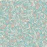 Chic vector seamless patterns tiling. Stock Image