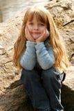 Chica joven Fotos de archivo libres de regalías