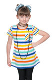Chica joven adorable Imagen de archivo