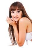 Chica joven adorable hermosa Fotos de archivo libres de regalías