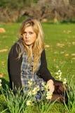 Chica joven al aire libre Fotografía de archivo