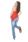 Chica joven atractiva Imagen de archivo