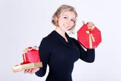 Chica joven atractiva Foto de archivo libre de regalías