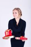Chica joven atractiva Imágenes de archivo libres de regalías