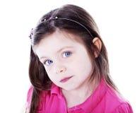 Chica joven bonita Imagen de archivo libre de regalías