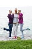 Chica joven bonita tres Fotografía de archivo libre de regalías