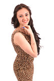 Chica joven con estilo Foto de archivo libre de regalías