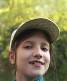 Chica joven curiosa Fotos de archivo libres de regalías