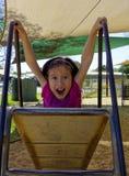 Chica joven de Frightend. Imagenes de archivo