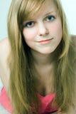 Chica joven de la belleza del balneario Foto de archivo