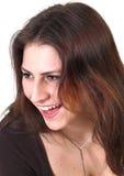 Chica joven de risa Foto de archivo libre de regalías