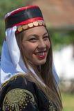 Chica joven de Turquía en traje tradicional Imagen de archivo libre de regalías