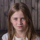 Chica joven del retrato, cierre para arriba Foto de archivo libre de regalías
