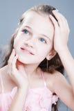 Chica joven en el estudio Imágenes de archivo libres de regalías