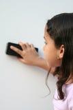 Chica joven en la escuela Imagen de archivo libre de regalías