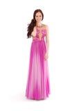Chica joven en vestido de noche Imágenes de archivo libres de regalías