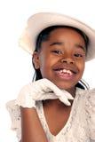 Chica joven encantadora Imagenes de archivo