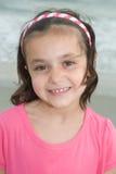 Chica joven feliz adorable Fotos de archivo