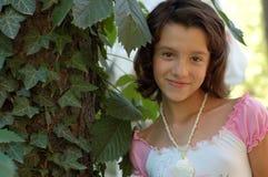 Chica joven feliz al aire libre Fotografía de archivo