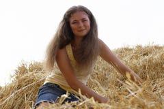 Chica joven hermosa Imagenes de archivo