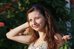 Chica joven hermosa Fotos de archivo