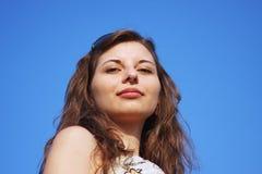 Chica joven hermosa Imagen de archivo libre de regalías