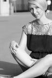 Chica joven hermosa Foto de archivo libre de regalías