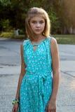 Chica joven hermosa Fotografía de archivo