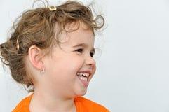 Chica joven hermosa sonriente Fotos de archivo