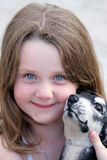 Chica joven linda Fotos de archivo