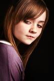 Chica joven magnífica Fotos de archivo