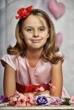 Chica joven magnífica elegante Fotos de archivo