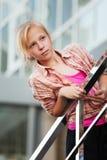 Chica joven que mira lejos Foto de archivo libre de regalías