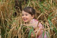 Chica joven que se divierte Fotos de archivo libres de regalías