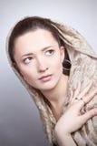 Chica joven romántica hermosa Imagen de archivo